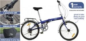 ALDI Folding Bike