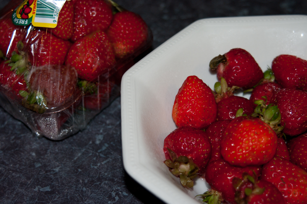 Strawberries from the Fridge